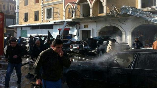 لبنان.. قتلى وجرحى في تفجير سيارة مفخخة في الهرمل بالقرب من ثكنة للجيش