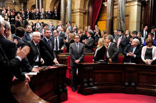 البرلمان الكاتالوني يصوت لصالح اجراء استفتاء على الاستقلال عن اسبانيا