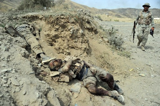القوى الأمنية الأفغانية تقضي على 23 من عناصر طالبان