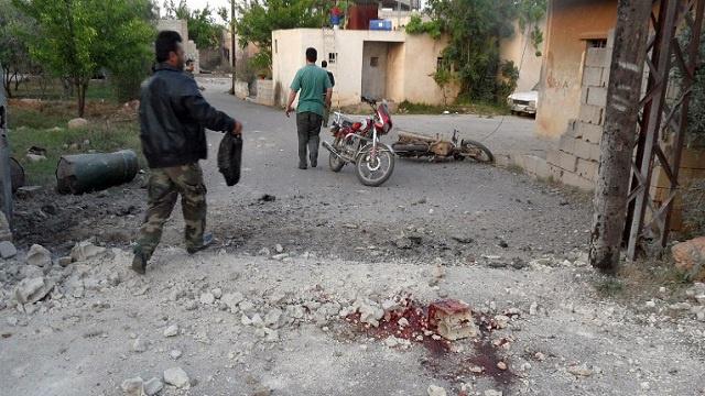 لبنان.. مقتل 7 اشخاص واصابة 15 في سقوط صواريخ مصدرها سورية