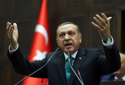 اردوغان ينفي تورط نجله في قضية فساد