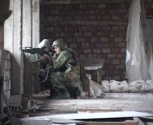 محاصرة مجموعة من المسلحين في جمهورية قربدين بلقار الروسية وفرض نظام مكافحة الارهاب