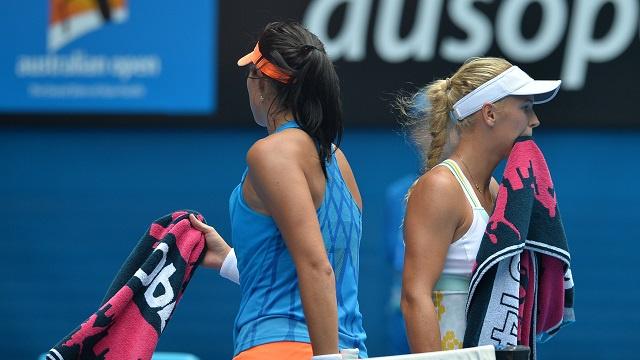 فوزنياتسكي تخرج على يد لاعبة مغمورة من بطولة استراليا المفتوحة