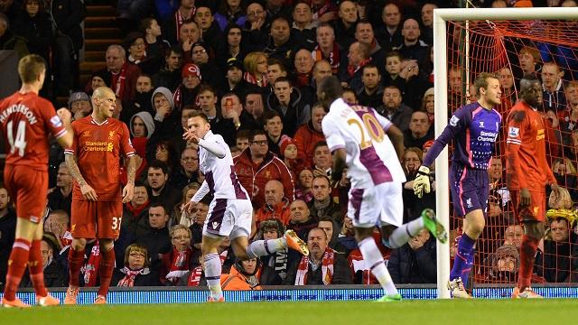 ليفربول يقع في فخ التعادل على أرضه أمام أستون فيلا