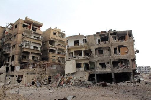 موسكو تعرب عن ارتياحها لوصول المساعدات الانسانية الى منطقة الغزلانية بريف دمشق