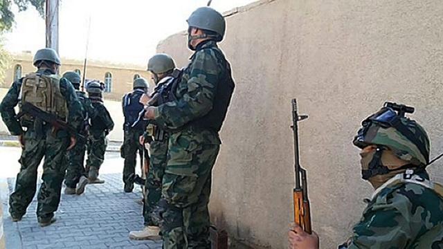 الجيش العراقي يشن عملية عسكرية واسعة فى مدينة الرمادي
