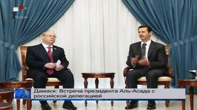 اللحام لوفد البرلمان الروسي: الارهاب الذي تتعرض له سورية هو نفسه الذي استهدف فولغوغراد