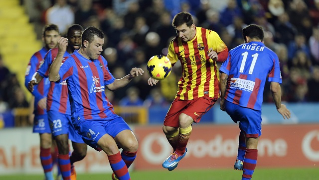 تعادل بطعم الهزيمة لبرشلونة أمام ليفانتي
