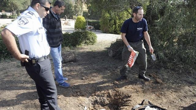 إطلاق صاروخ من غزة باتجاه الأراضي الإسرائيلية