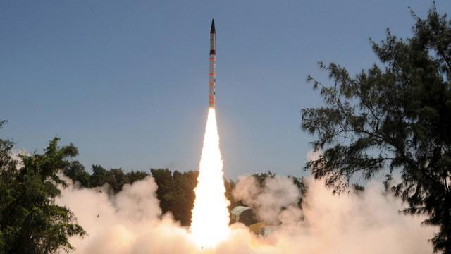 الهند تجري اختبارا ناجحا لصاروخ