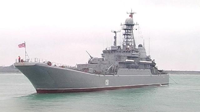 سفينتا إنزال تنضمان إلى التشكيلة العملياتية للسفن الحربية الروسية في المتوسط