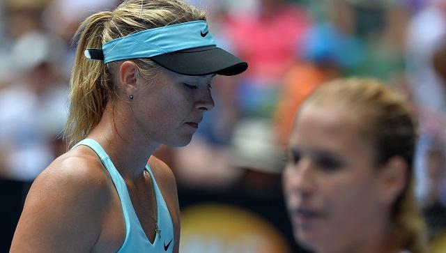 شارابوفا تودع بطولة أستراليا المفتوحة للتنس