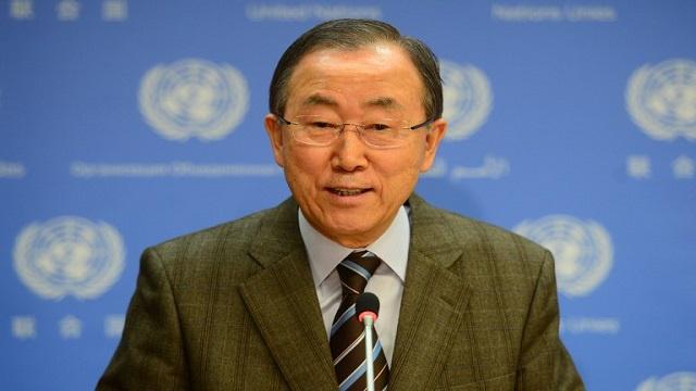 بان كي مون: 2014 ستكون سنة حاسمة في المفاوضات الفلسطينية الإسرائيلية