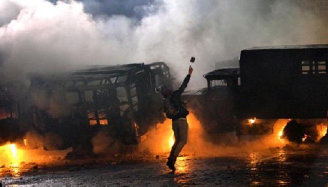 موسكو تعرب عن قلقها من قيام قوى معارضة متشددة بأعمال استفزازية في أوكرانيا