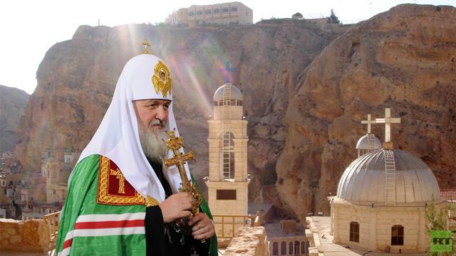 راعي الكنيسة الروسية يدعو إلى إنهاء الحرب في سورية ووقف تدنيس المقدسات