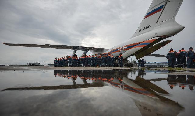 دفعة جديدة من المساعدات الإنسانية الروسية تصل إلى مطار بيروت