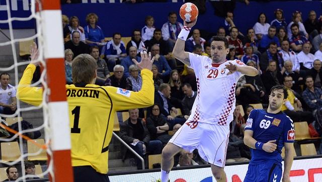 كرواتيا تتفوق على روسيا في بطولة أوروبا بكرة اليد