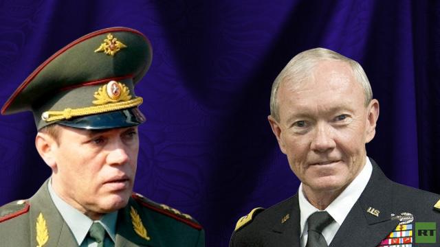 رئيس هيئة الأركان الروسية ونظيره الأمريكي يبحثان ضمان الأمن خلال أولمبياد سوتشي