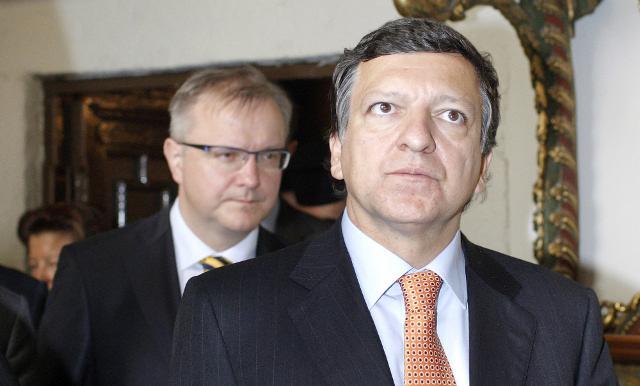 باروزو: الاتحاد الأوروبي لا يستثني اتخاذ إجراءات عقابية ضد السلطات الأوكرانية