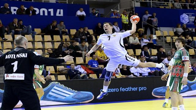 منتخب روسيا يهزم جاره البيلاروسي في بطولة أوروبا بكرة اليد