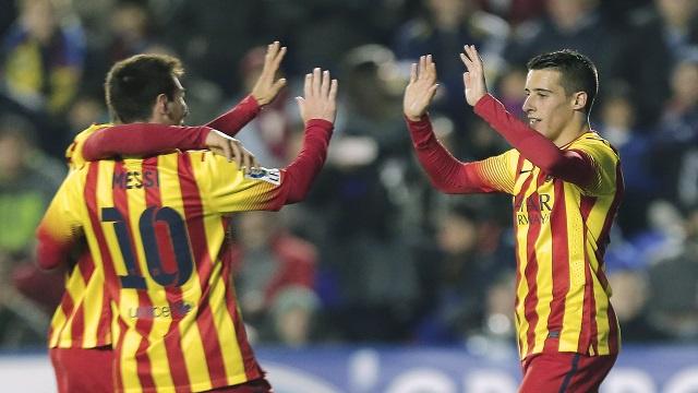 برشلونة يلقن ليفانتي درسا قاسيا برباعية في كأس الملك