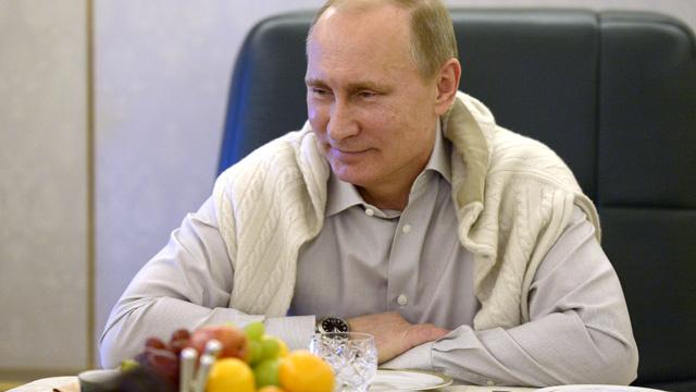 الرئيس الروسي بوتين يحصل على الـ