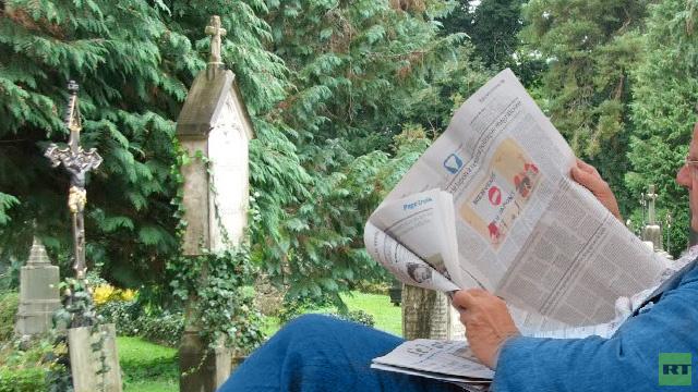 سويدي يقرأ خبر وفاته ويؤكد