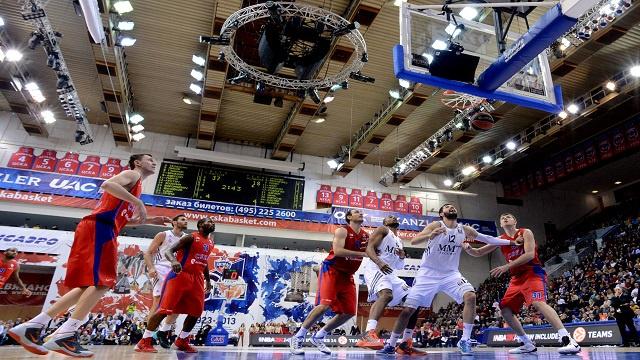 تسيسكا موسكو يهزم ريال مدريد في الدوري الأوروبي لكرة السلة