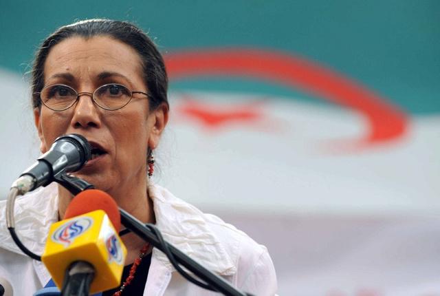 لويزة حنون تترشح للانتخابات الرئاسية في الجزائر وتعد بالانتقال إلى ديمقراطية حقيقية