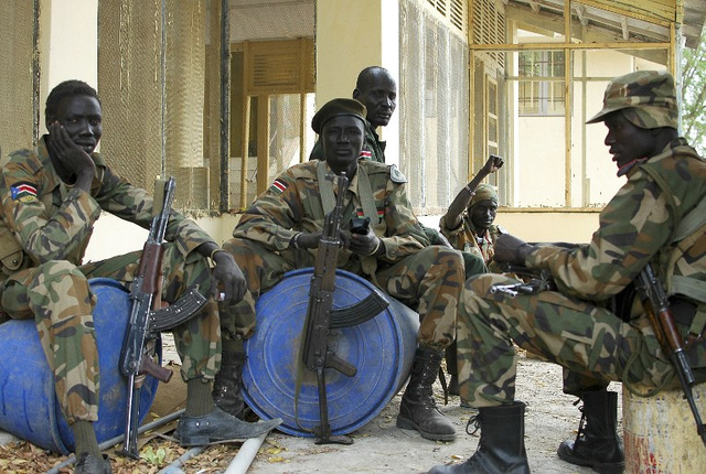 القوات الحكومية بجنوب السودان تتهم المتمردين بخرق اتفاق وقف إطلاق النار