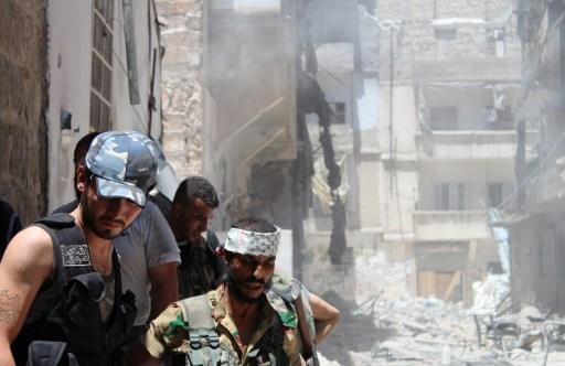 مواصلة الاشتباكات بين الجيش والمسلحين في حلب وريف دمشق