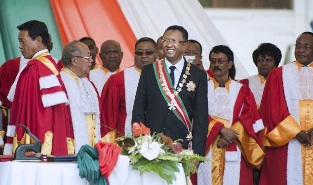 الرئيس الجديد لمدغشقر يتعهد بتحسين الأوضاع في البلاد