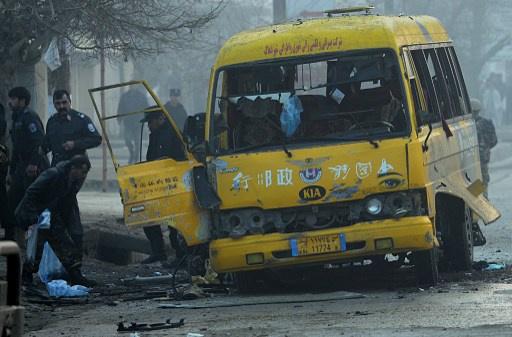 مقتل 4 اشخاص في عملية انتحارية في كابول