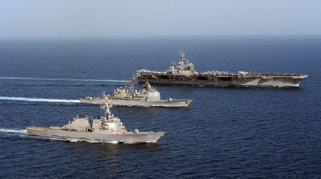 إيران تكشف أنها تستخدم طائرات بدون طيار للتجسس على السفن الحربية الأمريكية