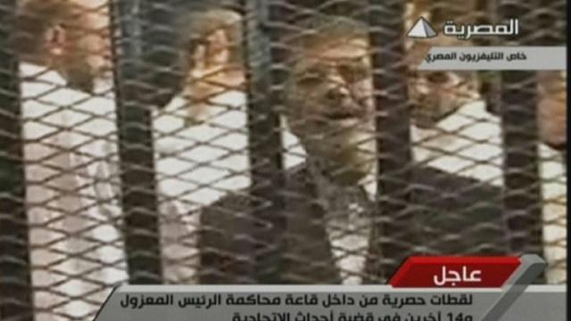 تأجيل محاكمة مرسي إلى 22 فبراير