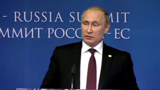 بوتين: التحضير لمؤتمر