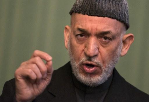 كرزاي: واشنطن تقف خلف هجمات طالبان في افغانستان