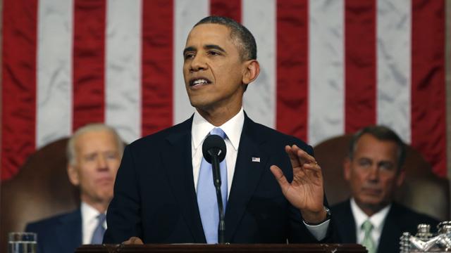 أوباما: الاقتصاد الأمريكي سيشهد قفزة هذا العام بعد فترة الركود