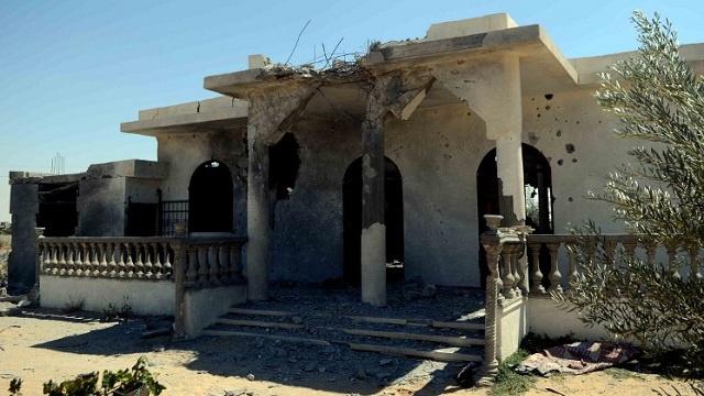 القوة الجوية المصرية توجه ضربة لمعاقل التكفيريين في سيناء