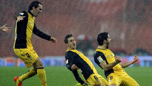أتليتكو مدريد يتجاوز بيلباو ويضرب موعدا مع ريال مدريد في نصف نهائي كأس اسبانيا