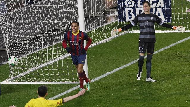 برشلونة يدك شباك ليفانتي بخماسية ويبلغ نصف نهائي كأس إسبانيا