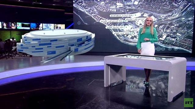 بتقنية الـ 3D .. افتتاح القرية الاولمبية في سوتشي 2014