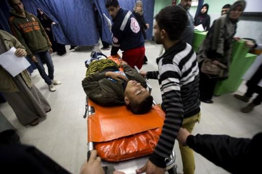 جرحى في غارات اسرائيلية على قطاع غزة
