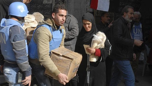 موسكو تأمل باستئناف إيصال المساعدات الى اليرموك اليوم وتحمل المسلحين مسؤولية أمن القوافل