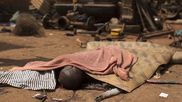 الصليب الأحمر الدولي: مقتل 30 شخصا في حوادث متفرقة بافريقيا الوسطى