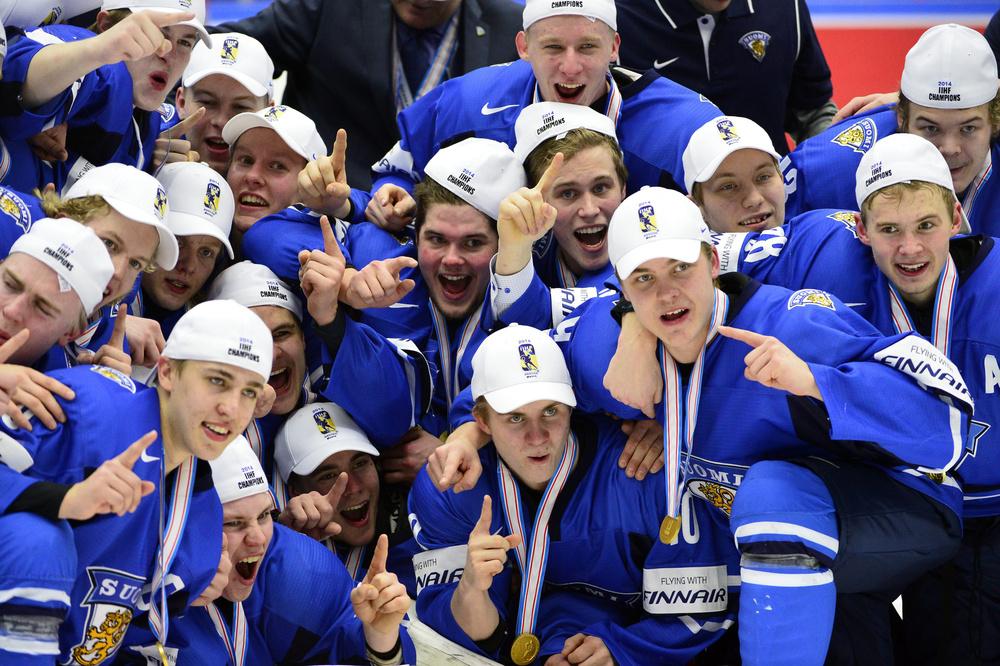 بالصور .. فنلندا بطلة للعالم بهوكي الجليد