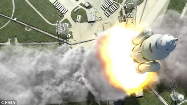 ناسا تكشف عن تصنيع أكبر صاروخ فضائي في العالم سيحمل الإنسان إلى المريخ