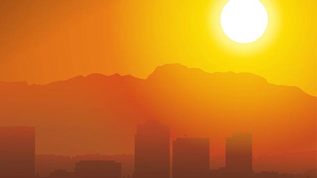 2013 ينضم الى قائمة الأعوام الأكثر حرارة في تاريخ مراقبة حرارة الارض
