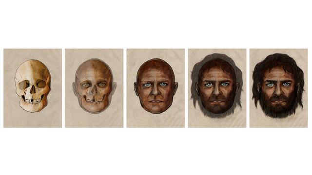 الاسبان القدماء - عيون زرقاء وبشرة سمراء