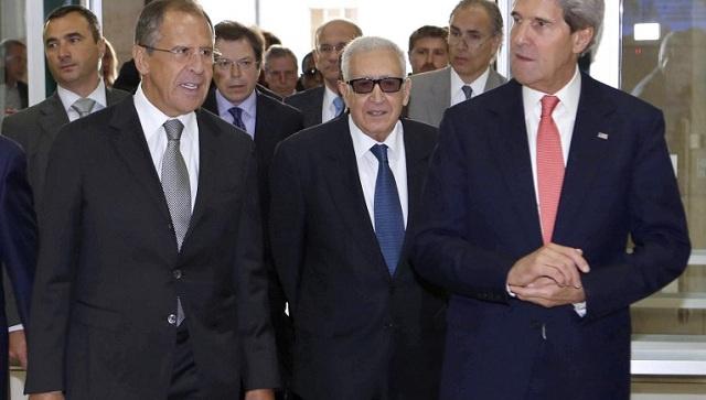لافروف: الحكومة السورية ستؤمن وصول المساعدات الانسانية الى اليرموك...وكيري يدعو إيران للانضمام الى جنيف -2